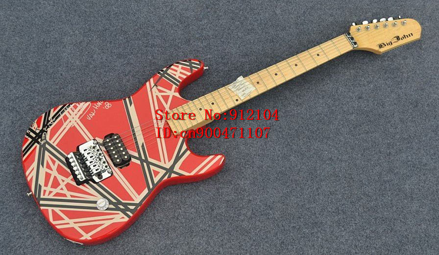 free shipping new Big John double wave electric guitar with basswood body  F-1340free shipping new Big John double wave electric guitar with basswood body  F-1340