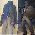 OW Jesse McCree Cosplay Disfraces de Halloween COS Con Golves + Bufanda