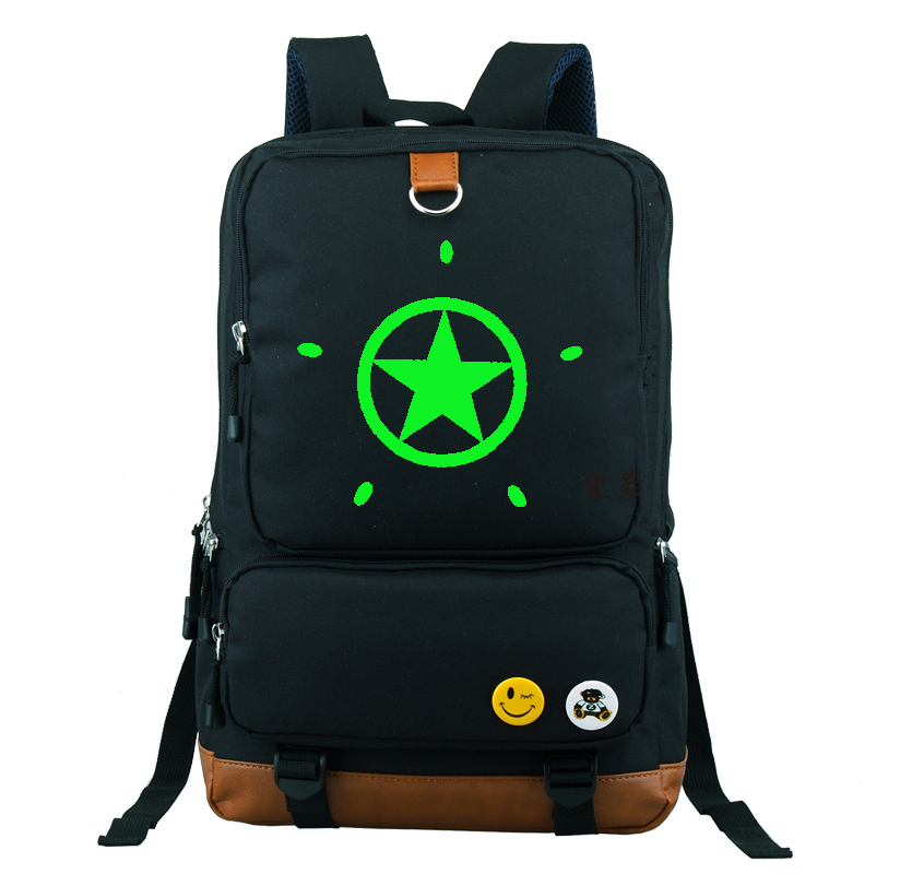 black Black Borse Stella Green Teenages Zaino red Blue dark Dei Green Green Nottilucenti Blue Blue Bambini Bagpack Del Scuola Zaini black Pattern dark Rock Blue Fumetto Viaggio Pattern Studenti No Pattern Da dark Borsa red red red Shooter dark HwqZvrH