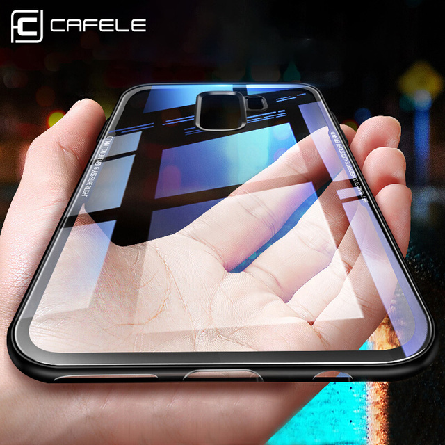 official photos c7269 b7117 US $3.99 20% OFF Cafele Tempered Glass Case for Samsung Galaxy S9 Plus 9H  Hardness Anti Scratch Glass Cover for Samsung S9/ S9 Plus-in Fitted Cases  ...