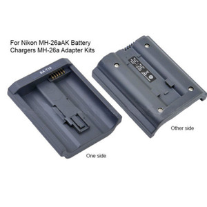Image 2 - UNS Stecker Für Nikon MH 26 Batterie Dual Ladegerät MH 26a EN EL18 Adapter EN EL4 LP E4 EN EL4A Dropshipping Freies Verschiffen