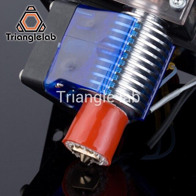 Trianglelab 3D Printer Hotend  V5 V6 HOT END heat block upgrade kit for V5 V6 Lite6 Chimera Cyclops Kraken  free shipping reprap