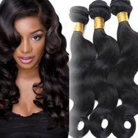 1pc Natural High Temperature Silk Unprocessed 7A Virgin Human Hair Brazilian Weave Wave Curly Hair Extensions Tool AU21
