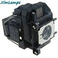 Substituição da lâmpada do projetor elplp67/v13h010l67 com habitação para epson EB W12/EX3210/EX5210/EX7210/Powerlite 1221