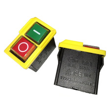 Switch Electromagnetic CK1 Push-Button On-Off for Grinding-Machine 6--4-2pc 250VAC