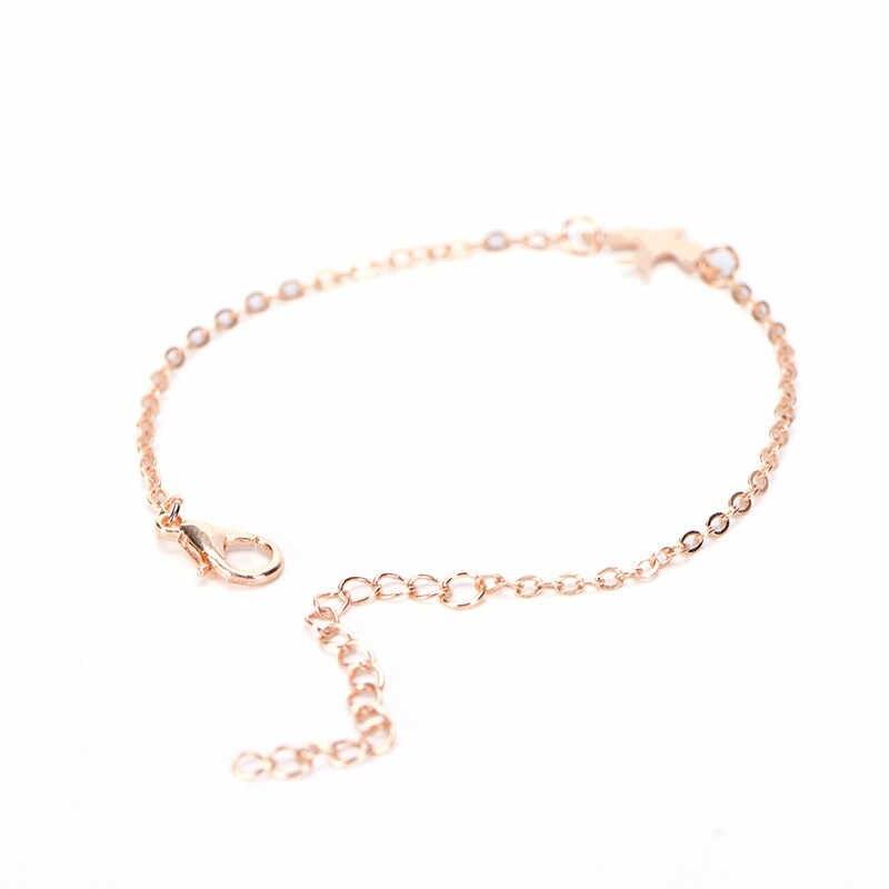 HwetR תכשיטי זהב ורסיס צבע יונת שלום חמוד צמיד לאישה 2018 חדש צמידים & צמידים חמים מתנה