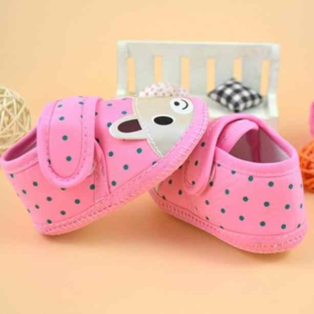 Recién Nacido bebé niño niña cuna zapatos de dibujos animados animal antideslizantes de fondo suave de bebé de los zapatos de los niños