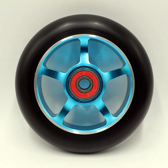 2 wheel!   style scooter wheel of high quality,PU wheel for sale 100x24mm88a