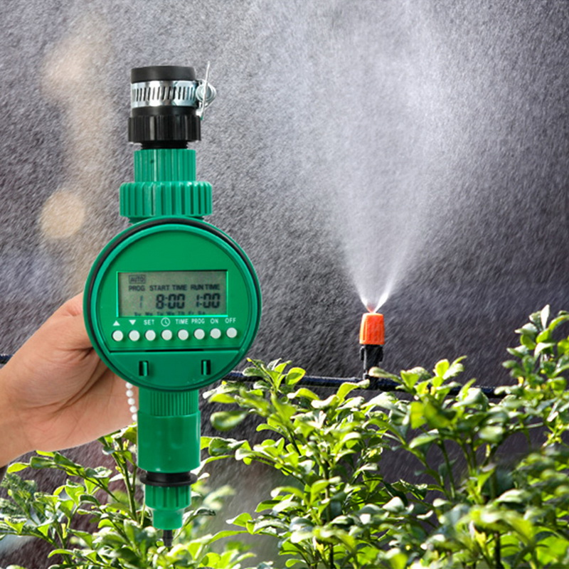 Image 5 - Automatic Smart Irrigation Controller  LCD Display Watering Timer Hose Faucet Timer Outdoor Waterproof Automatic On Off-in Garden Water Timers from Home & Garden