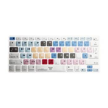 "Keyboard Cover Avid Media Composer  Shortcut Printed Cover for MacBook Air Pro Retina 13"" 15"" 17"" iMac Wireless & MacBooks"