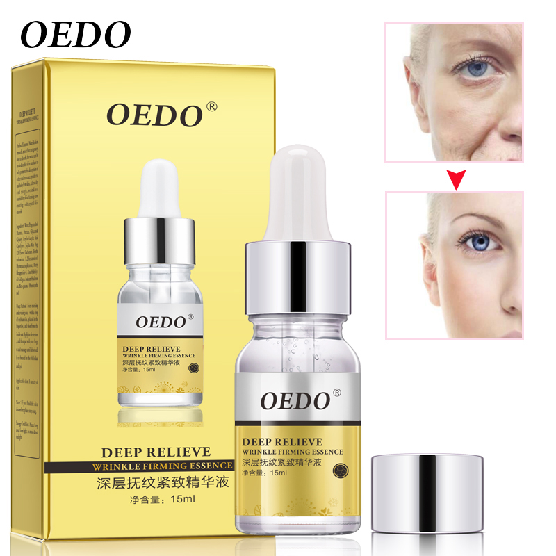 Deep Relieve Wrinkle Firming Essence Eye Serum Collagen Anti-Aging Eye Care Anti-Wrinkle Skin Care Nourishing Skin Eyes Cream