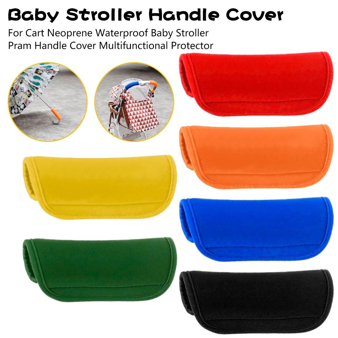 Waterproof 1pcs Baby Stroller Handle Cover For Pram Cart Multifunctional Protector Neoprene Stroller Accessories