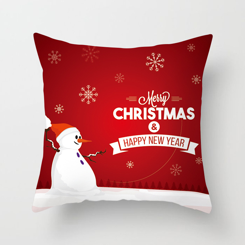 Christmas Series Pattern Decorative Pillowcases