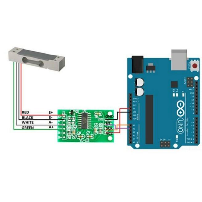 Weighing Sensor Module