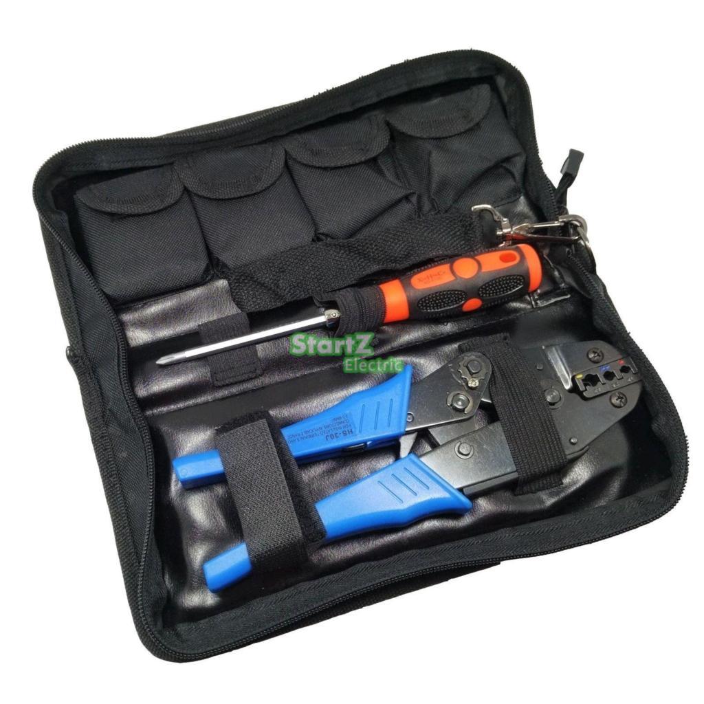 Gofravimo rankinis įrankis su die die elektriko gniuždymo vielos - Įrankių komplektai - Nuotrauka 5