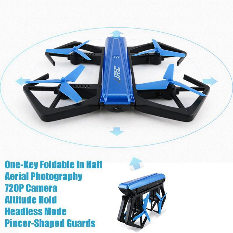 Selfie Drones With Camera 720p Jjrc H43wh Foldable Drones Mini Rc Drone Remote Control Toys For Kids Rc Helicopter Wifi Dron Toy