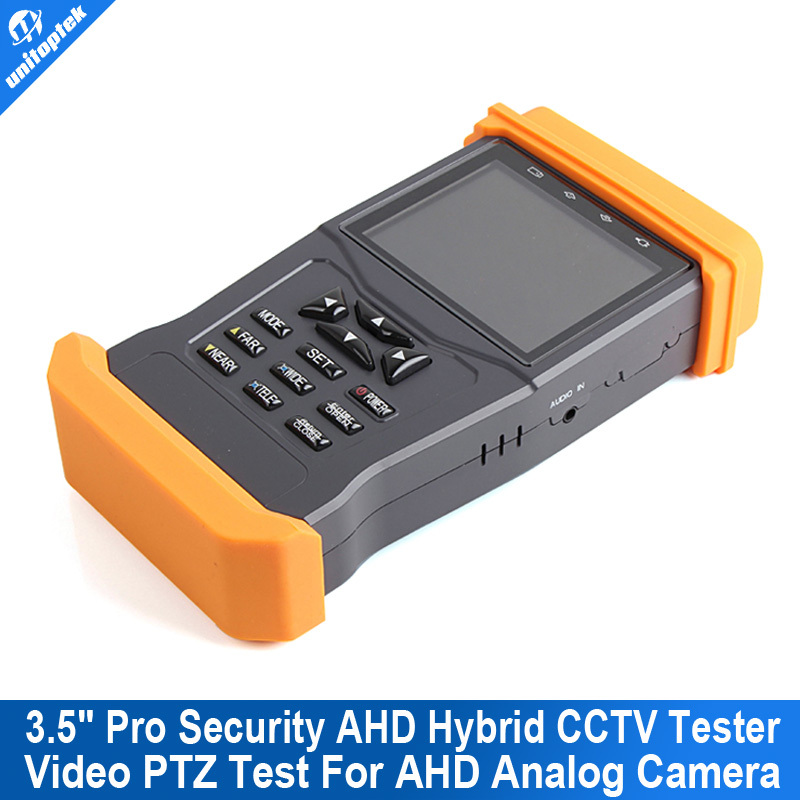 2015 New Product Pro Security AHD Hybrid CCTV Tester 3.5