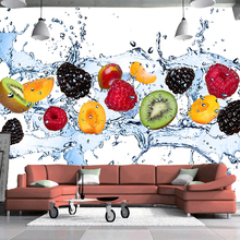 Fresh Fruit Photo Wallpaper Restaurant, Living Room, Kitchen