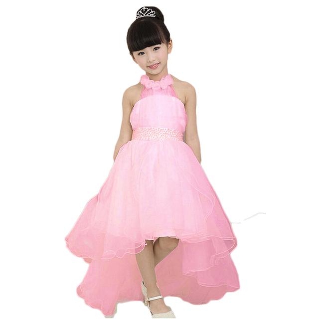 2015 moda festa de casamento menina princesa vestidos crianças roupas de marca menina vestido
