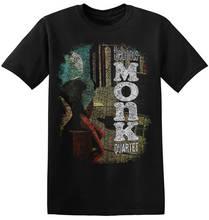 Fashion T Shirt Brand O-Neck Short Sleeve 2018 Mens Thelonious Monk  Tees