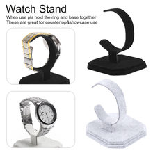 New Watch Display Rack Jewelry Holder Three Watches Showcase Clear Stand Watch Rack цена и фото