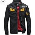 Весна мужские куртки пальто куртка Бомбардировщика куртки Ветровки мужские хип пальто уличной горячей продажи осенью пальто и пиджаки