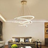 Designer Modern Led Chandelier Kitchen Living Dinging Room Light Fixtures LED Hanging Chandelier Lighting Luminaires Led