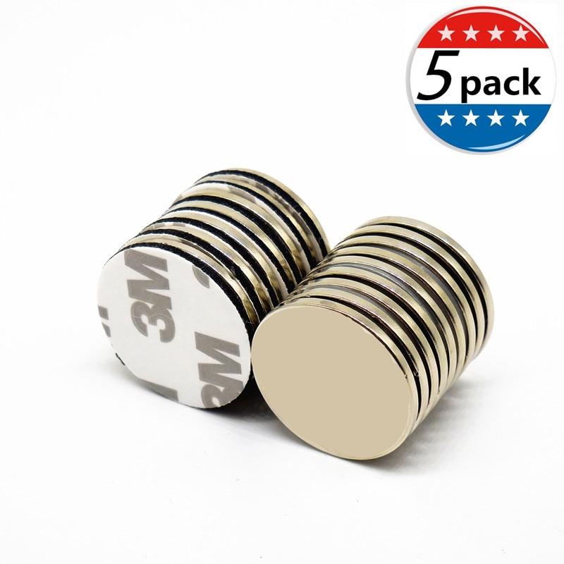 5PCS 25x2mm N35 Strong Neodymium Magnets Rare Earth 25*2 ...