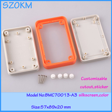 1 piece plastic enclosure for electronic 57x89x20  mm coffret pour disjoncteur abs material and 2014 new