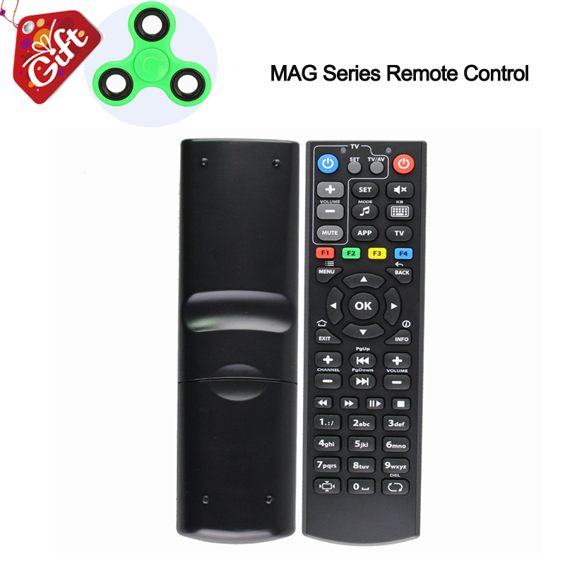 Mag 254 Universal Smart Remote Control 433 For MAG 250/ 254/ 255/ 256/ 257/275/349/350/351/352 Linux Tv Box OTT IPTV Set Top Box neil cherry linux smart homes for dummies