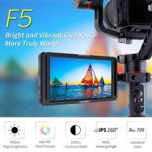 4K 5 Inch On Camera Ultra Slim DSLR 4K Full HD Field Monitor 4K HDMI IPS