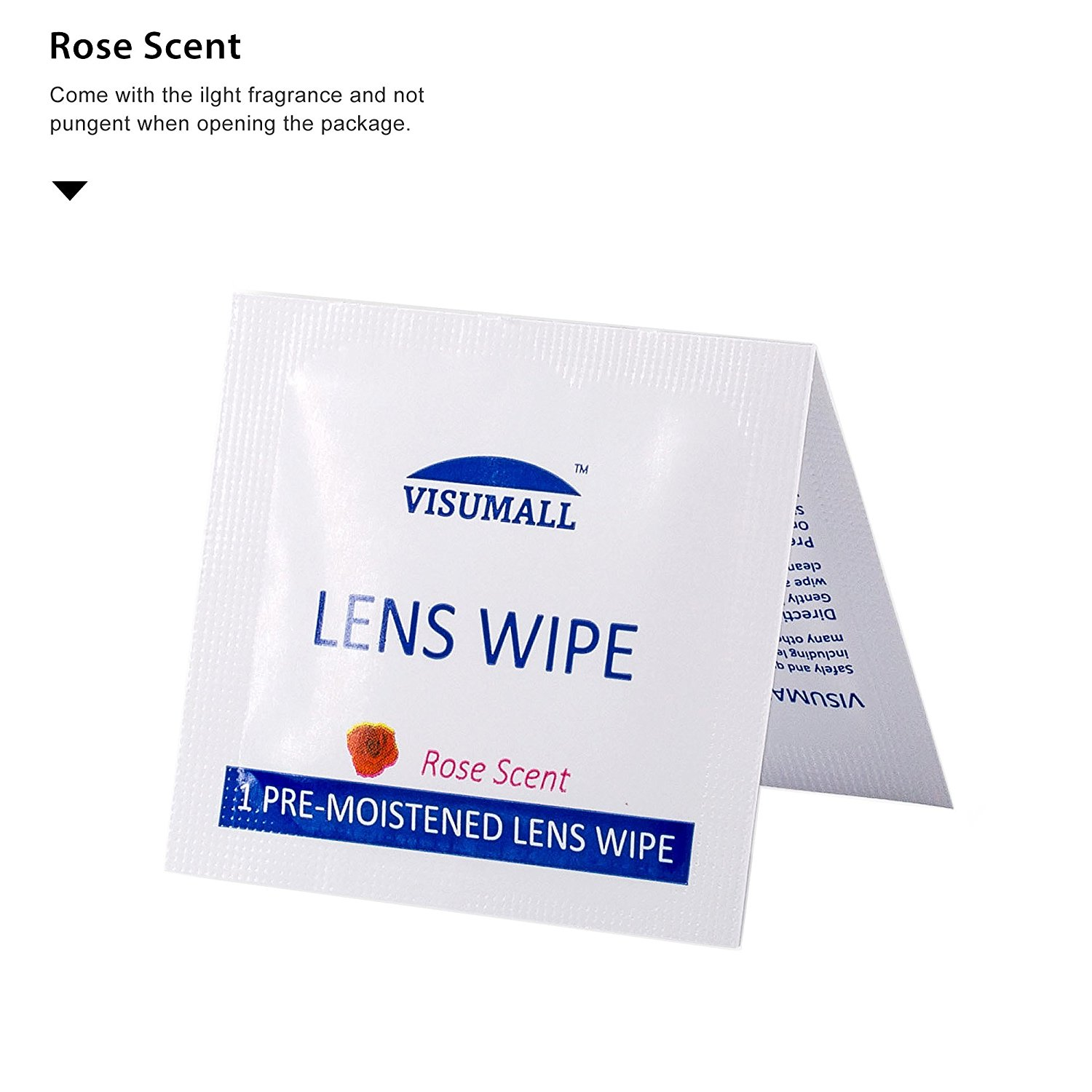 Pre-Moistened Lens Cleaning Wipes Portable Travel Cleaner for Cleaning Dust Camera Watch Glass Smart Phone iPad Screen Rose image