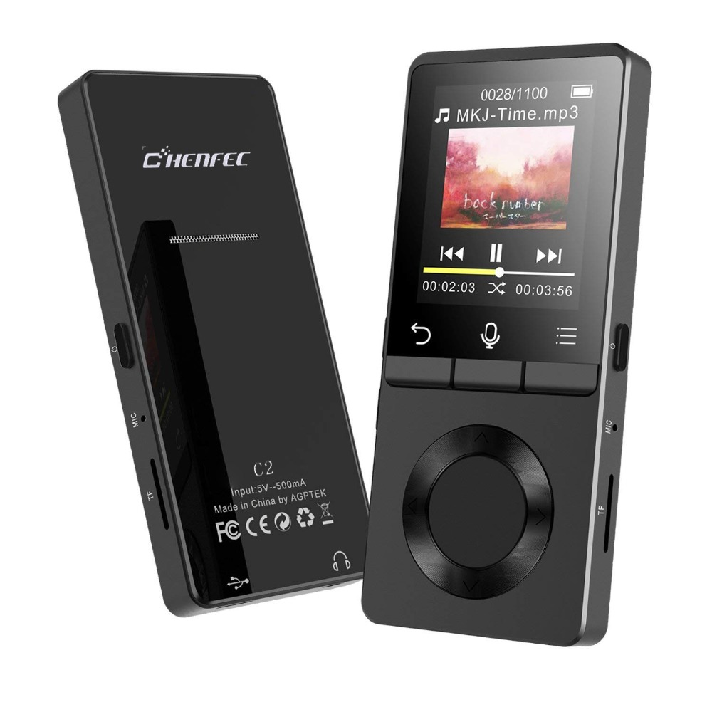 נייד CHENFEC C2 Mp4 נגן עם רמקול ספורט MP4 נגן 8 gb עם נגן וידאו FM רדיו MP4 מוסיקה נגן תמיכה עד to128GB