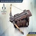 1:1 ª NECA Assassins Creed Brotherhood Hoja Oculta de Ezio Auditore Guantelete Réplica Cosplay Juguetes de Los Cabritos Envío de La Gota