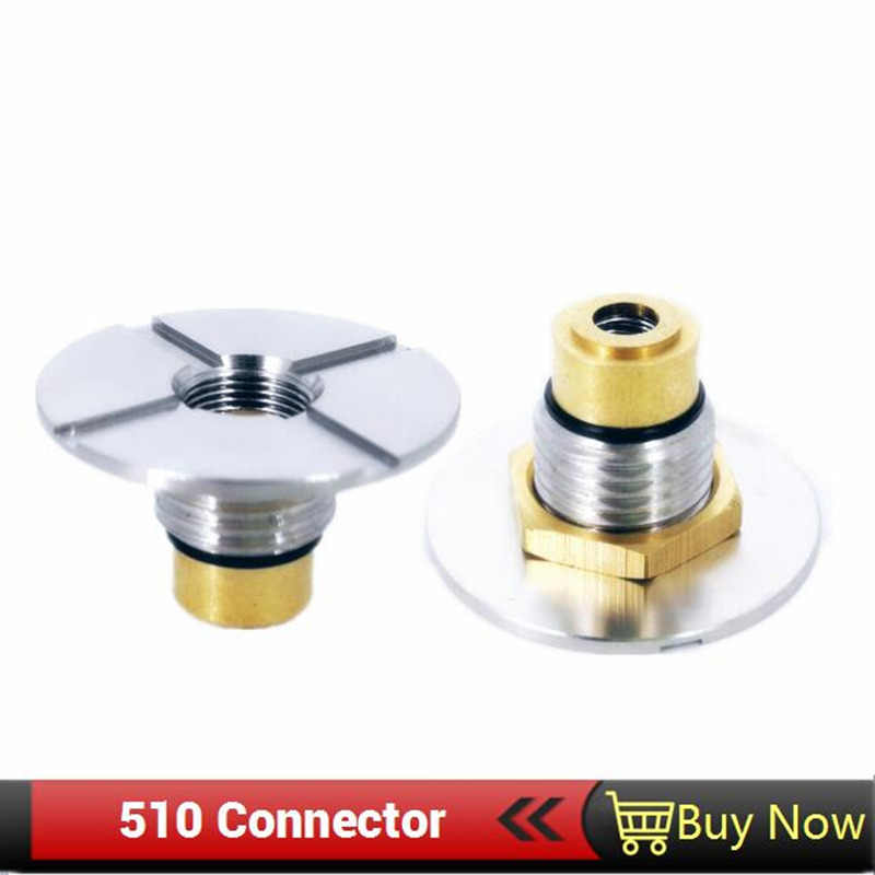Veeape Electronic Cigarette 510 Connector Spring Terminal Connector Loaded  for DIY Mod 510 Spring Connector For Battery Box Mod