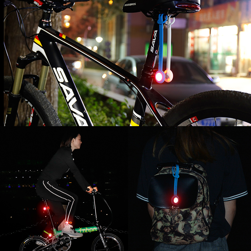 RockBros Night Warning Belt Rope Light Cycling Sports Multi-funtion Light 28cm
