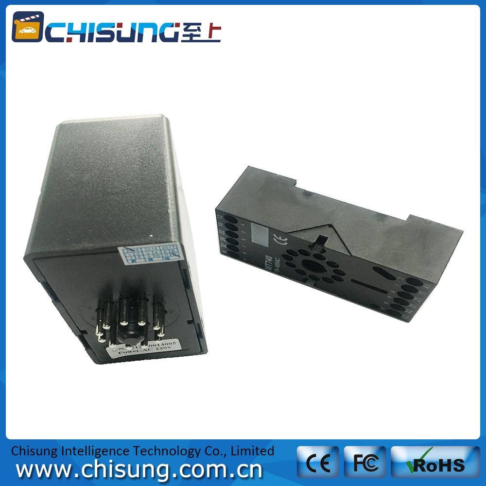 Free Shipping 24V DC Black  Loop Detector Signal Control in High Quality free shipping vi jt3 cx dc dc 110v 24v 75w