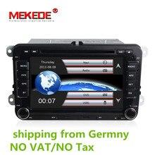 Цена завода dvd-плеер автомобиля для VW/Volkswagen/SAGITAR/JATTA/поло/BORA/GOLF V навигация с 3g хост gps BT радио свободная Карты