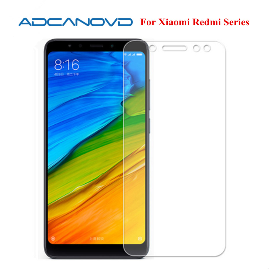 Screen Protector Glass for Xiaomi Redmi 5 Plus Tempered Glass For Xiaomi Redmi 5 5a Anti-scratch Film for Xiaomi Mi 6 5 Note3