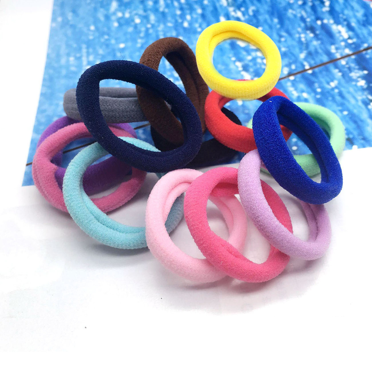 3cm 1pc Headwear Hair Accessories Rubber Rope Elastic Hair Bands For Girls Kids Children Baby Charms Tie Gum3cm 1pc Headwear Hair Accessories Rubber Rope Elastic Hair Bands For Girls Kids Children Baby Charms Tie Gum