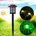 Casa Estilo à prova d' água LED Branco Jardim Luz Solar Jardim Outdoor Paisagem Lawn Decoração Lâmpadas Solares 1.2 V WSL016