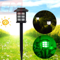 Waterproof Cottage Style White LED Solar Garden Light Outdoor Garden Lawn Landscape Decoration Solar Lamps 1.2V  WSL016
