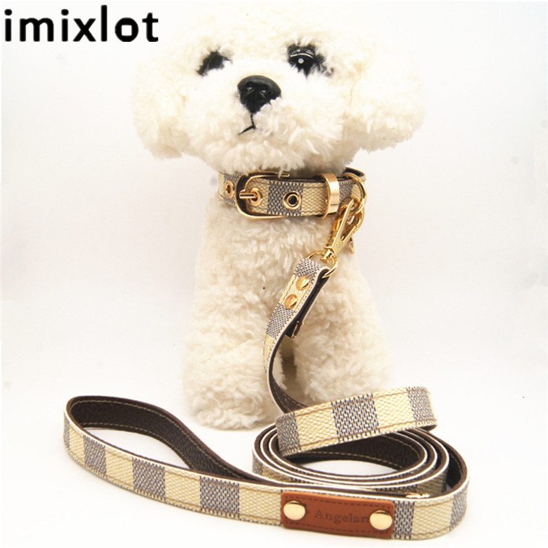 Imixlot Dog Leash Set Pet Vest Traction Rope Lead For Large Dogs Daily Training For Walking Pet Collar Necklace