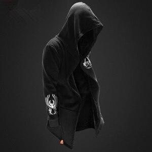 Image 2 - ZOGAA Gotik erkek hoodies Casual moda siyah hoodie 3 çeşit baskı tişörtü hip hop erkekler hoodie erkekler artı boyutu XS 4XL
