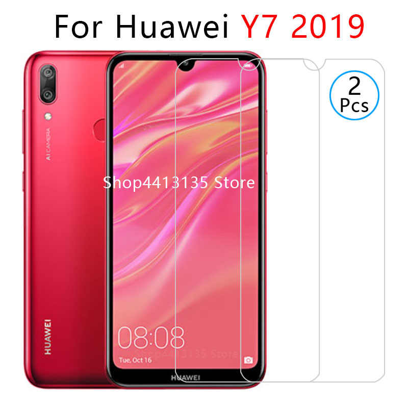 case for huawei y7 2019 case on y72019 y 7 7y y7 prime pro 2019 back cover cases protective phone coque tempered glass 6.26 cas