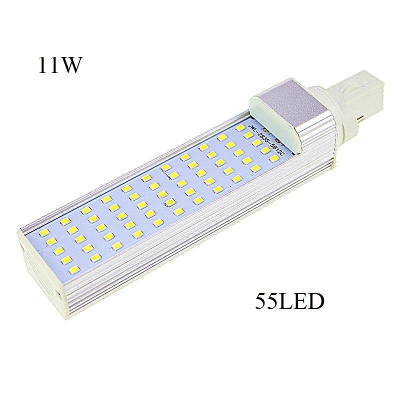 Lampada G23 G24 E27 5W 7W 9W 11W 13W Led Light Horizontal Plug Lamps 2835 SMD Corn Lamp High Light AC 85V-265V Cool/Warm white sitemap 103 xml