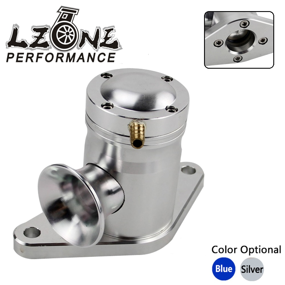 Silver CNC Bolt-On Top Mount Turbo Blow Off Valve For Subaru 02-07 WRX EJ20//EJ25