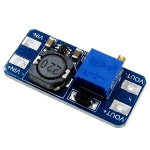 100 шт. MT3608 усилитель конвертера, усилитель конвертера, Модуль повышения мощности, макс. выход 28 в 2 А