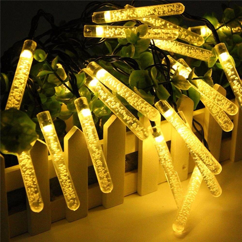 Outdoor 3.5m 20LED Solar Lamps Waterproof LED String Fairy Light Garland Wedding Party Deocration Lighting Solar Lights ландшафтное освещение 2 5ag 20led