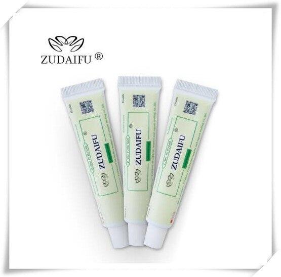 4pcs zudaifu body cream without retail box men women skin care product relieve Psoriasis Dermatitis Eczema Pruritus effect Z13